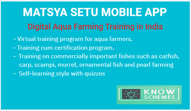 Matsya Setu App Uplifting Aqua Farmers